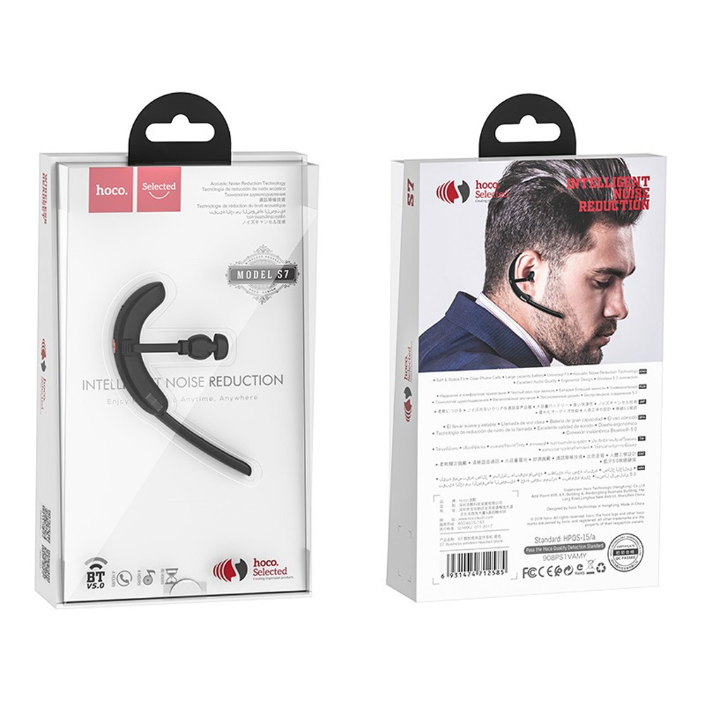 Hoco Delight Business Wireless Headset, S7