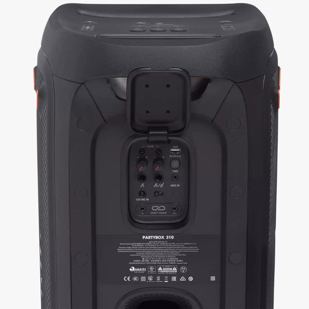 JBL Partybox 310 Portable Party Speaker, Black