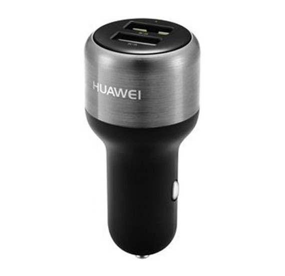 Huawei Fast Charge Dual-USB Car Charger with USB, C cable, AP31