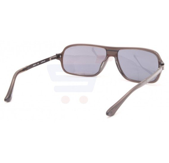 Aigner Oval Brown Frame & Gradient Purple Mirrored Sunglasses For Men - AI-SM-02A