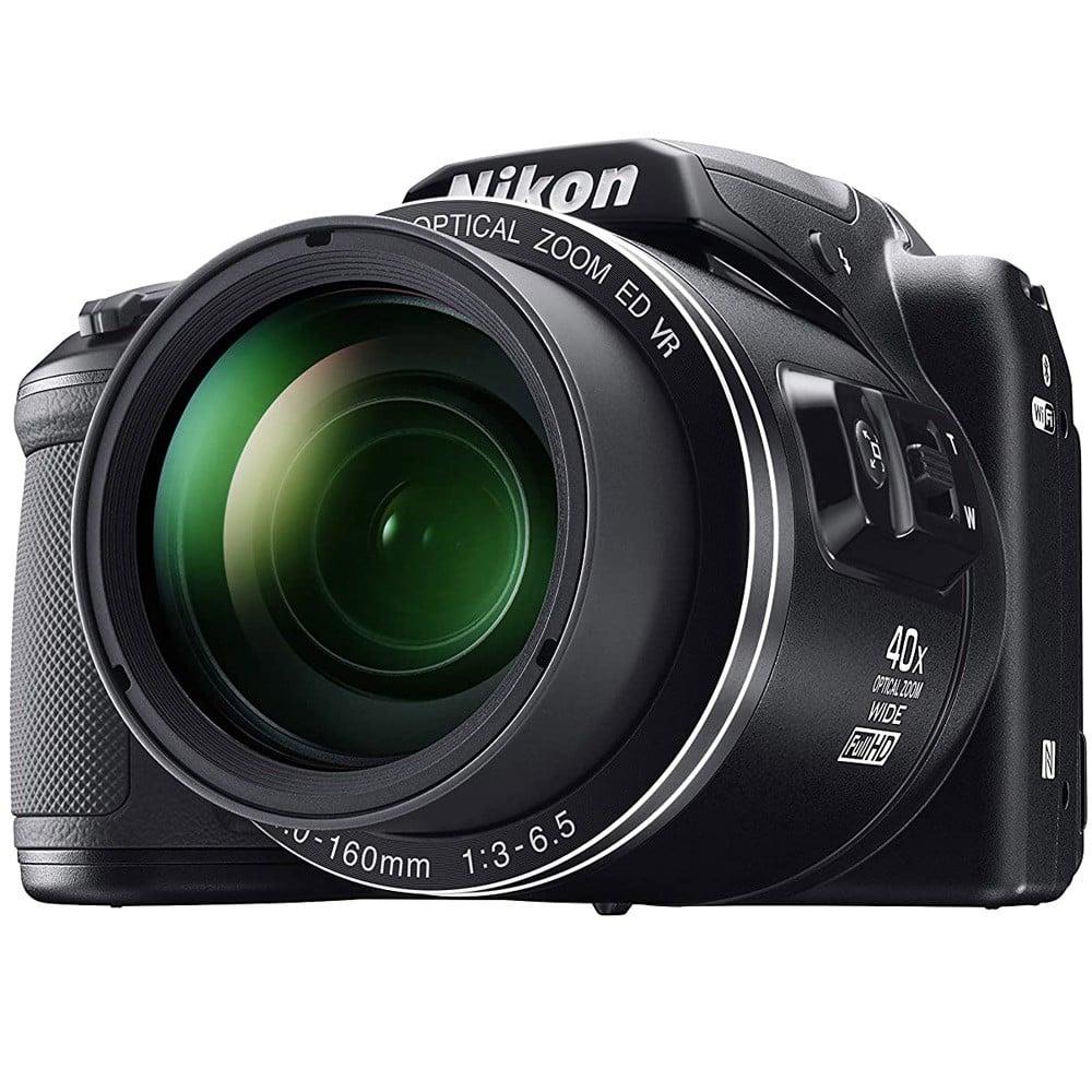 Nikon Coolpix B500 Compact Point & Shoot Camera, 16 MP, Black
