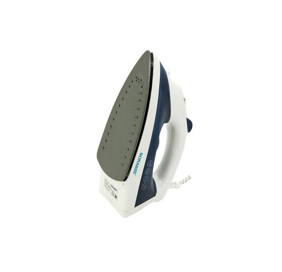 Sonashi Steam Iron With Non-Stick Soleplate -1600W, SI-5063T