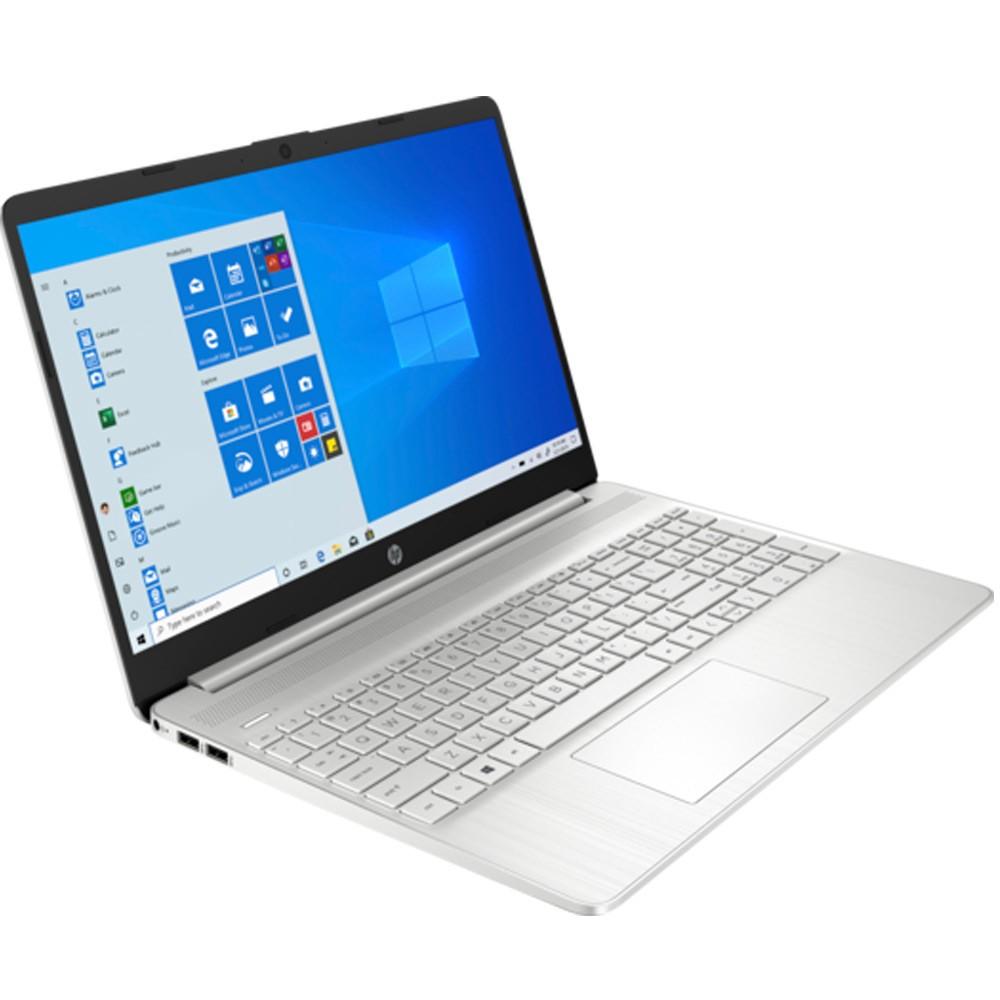 HP 15-EF2127WM Laptop 15.6 Inch Full HD Display AMD Ryzen 5 Processor 8GB RAM 256GB SSD Storage AMD Radeon Graphics Win10, Silver