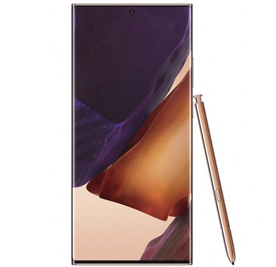 Samsung Galaxy Note20 Ultra Dual SIM Mystic Bronze 8GB RAM 256GB 4G LTE With Galaxy Buds Live