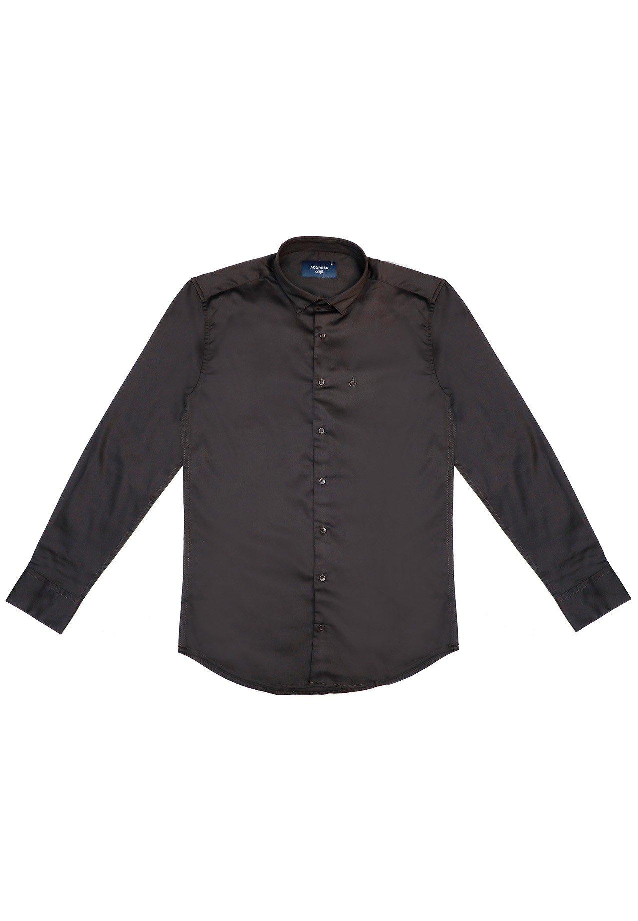 Address Formals Shirt Black, XXL