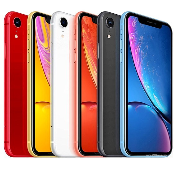 Apple iPhone XR 128GB 3GB RAM 4G LTE with faceTime - Yellow