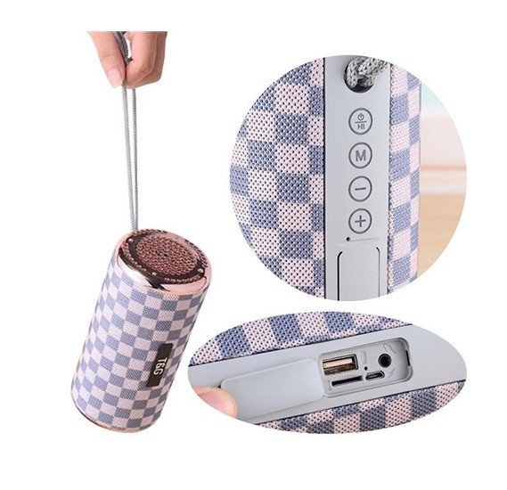 T&G TG153 Portable Wireless Bluetooth Multi-Colour Super Bass Stereo Speaker with FM Radio, Aux, Micro SD & USB Flash Supprt