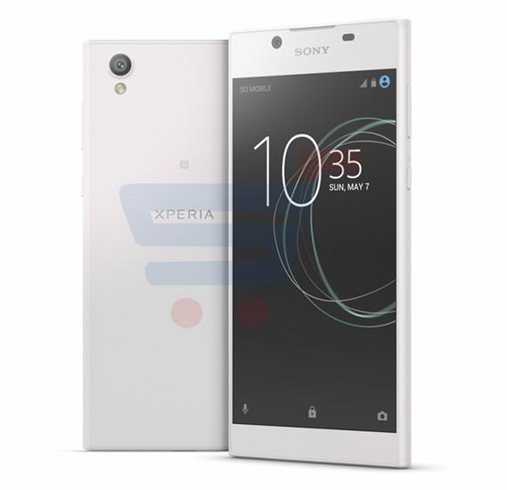 Sony Xperia L1 4G Smartphone, Android 7.0, 5.5 Inch Display, 2GB RAM, 16GB Storage, Dual Camera, Dual Sim- White