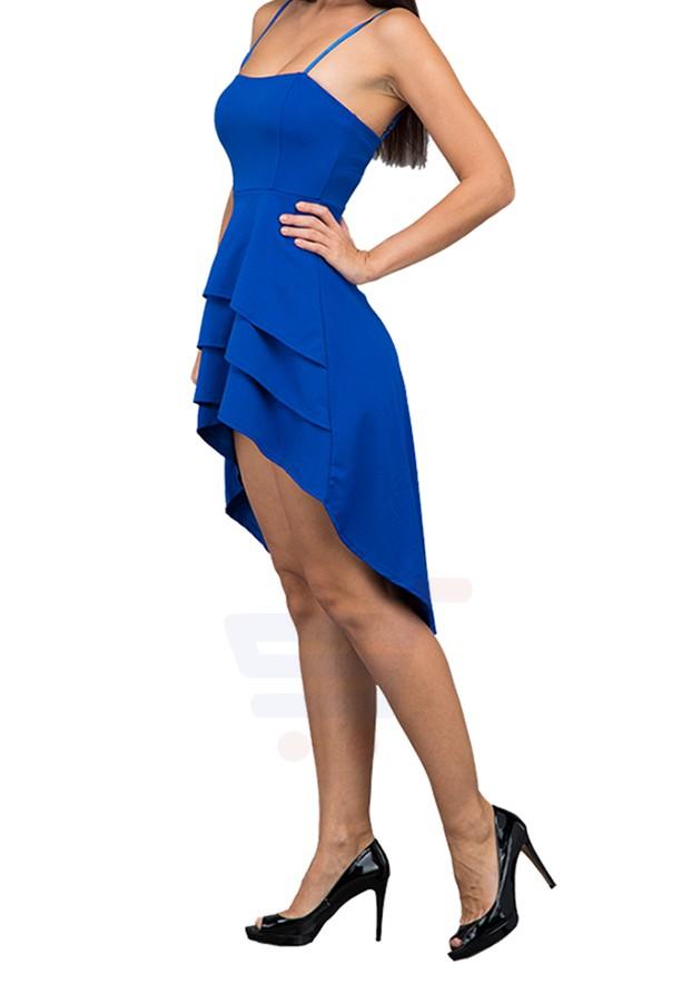 WAL G Italy Tube Party Dress Blue - MK 7023 - L