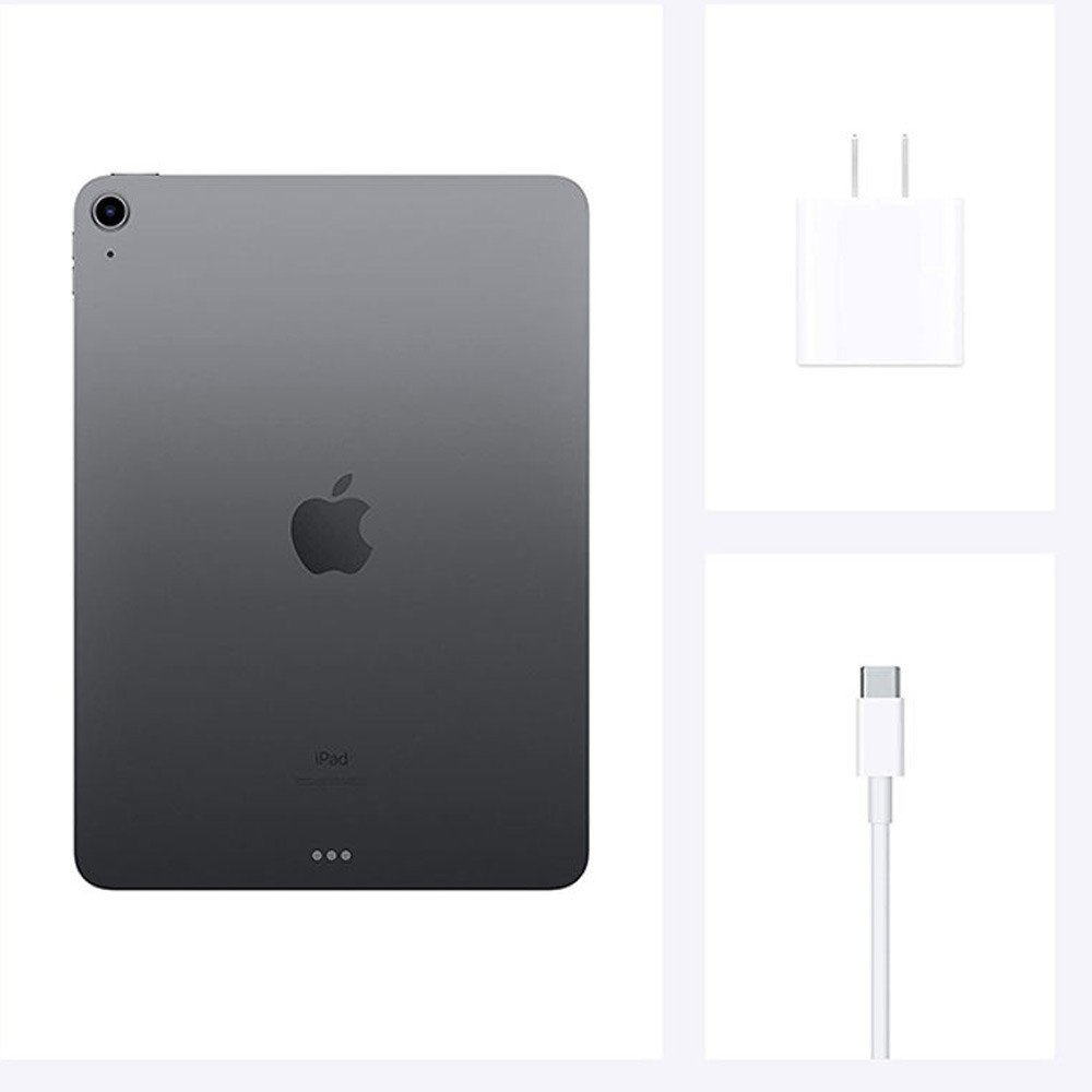 Apple iPad Air 2020 (4th Gen) 10.9inch 256GB WiFi with Facetime, Space Gray