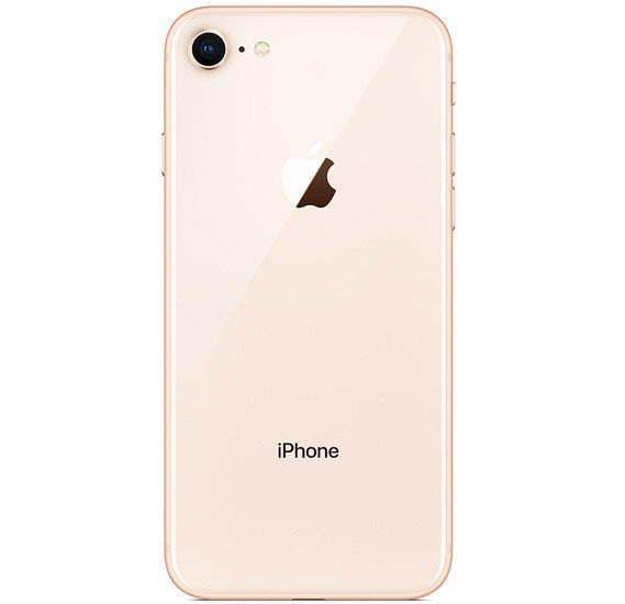 Apple iPhone 8, 2GB RAM, 256GB Storage, 4G LTE, Gold, Refurbished