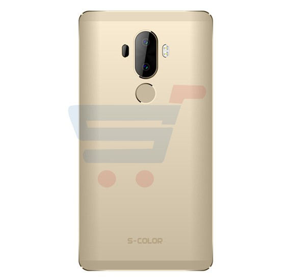S-COLOR Mate 9 Plus 4G Smartphone,Fingerprint,Android,6.0 Inch Display,3GB RAM,32GB Storage,Dual SIM,Dual Camera,Quad Core 2.0 GHz  Processor-Gold