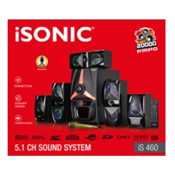 iSonic iS 460 5.1 CH Sound System