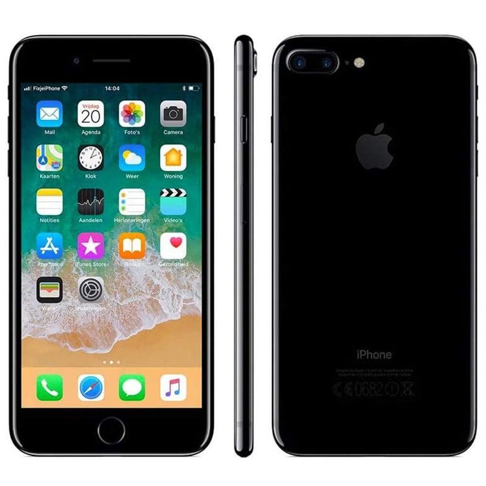 Apple iPhone 7 Plus 3GB RAM 128GB Storage 4G LTE, Black- Refurbished