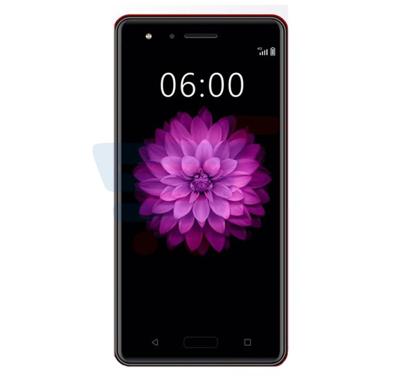 Mione N66 Smartphone 4G, Android 5.1, 5.5 Inch HD Display, 3GB RAM, 32GB Storage, Dual Camera, Dual Sim- Red