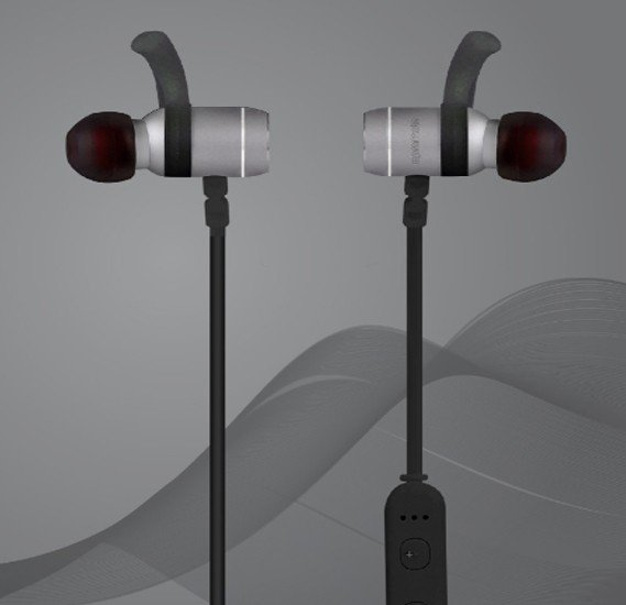 Promate Bluetooth Earbuds, With Long Battery Life, Move Grey
