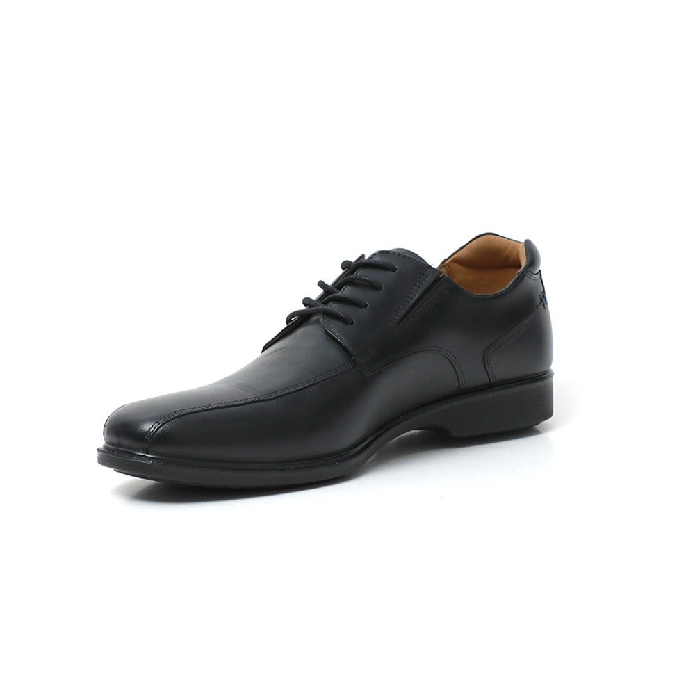 Hush Puppies Mens Formal Shoes Black Leather WP, HMP1477-001