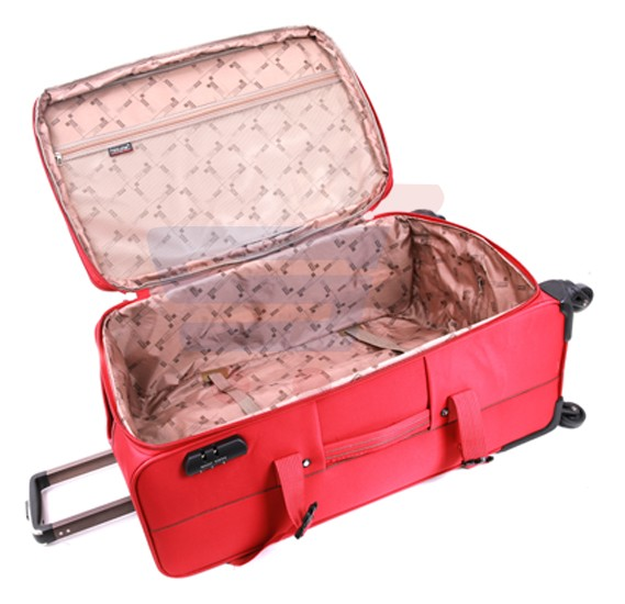 Para John 20 Inch Trolley Luggage, Red- PJTR3040