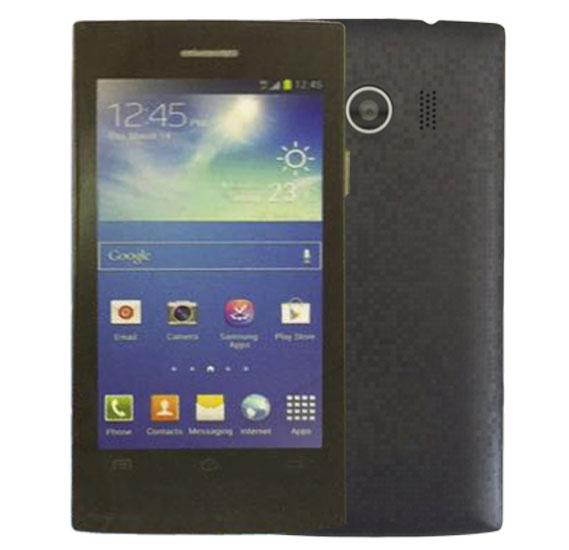 Kagoo 2569 Smartphone, Android, 3.5inch LCD QVGA Display, Dual SIM, Wifi(BLACK)