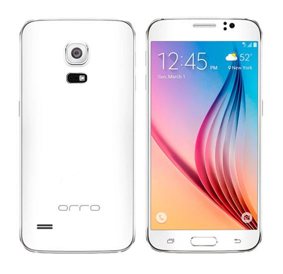 Orro S6 Smart Phone, 4G, Android, 1GB Ram, 8GB Storage, Dual Core, Dual Camera, Dual Sim-White
