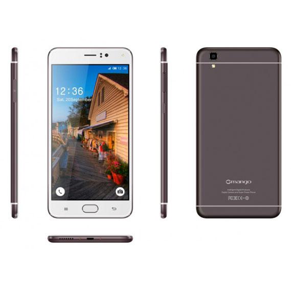 Gmango R9 Plus Smartphone, 4G, Android 6.1.1, Quad-Core, 6.0 inch Display, 3GB RAM, 32GB Storage, Dual Camera - Grey