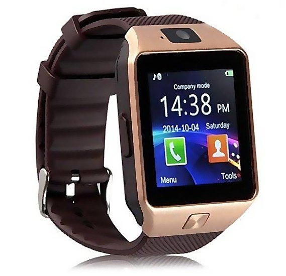 Midsun M1 Smart Watch, Android Support, Camera, Bluetooth(GOLD)