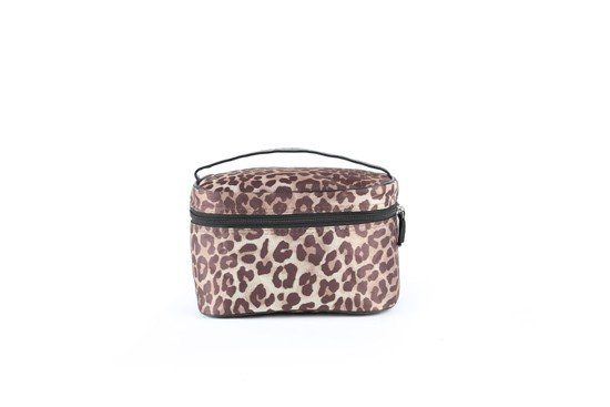 4in1 Okko Trolley Bag Color- Cheetah Print Light Brown Doted-36409