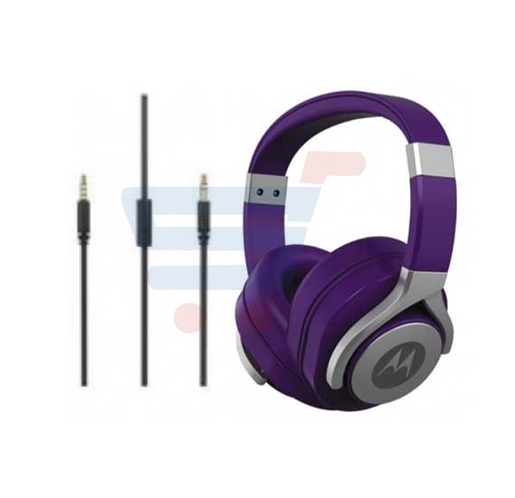 Motorola Pulse Max Wired Headset Purple