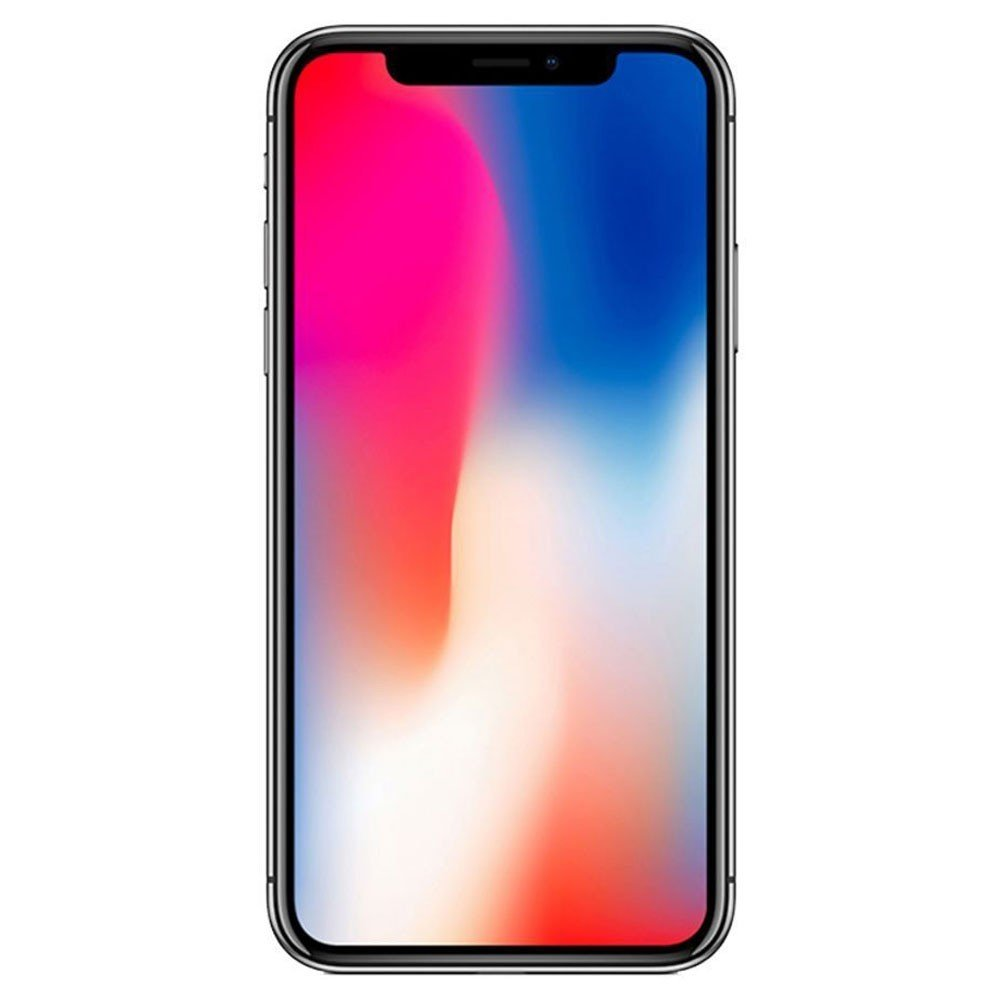 Apple iPhone X With FaceTime Space Grey 256GB 4G LTE Renewed- S