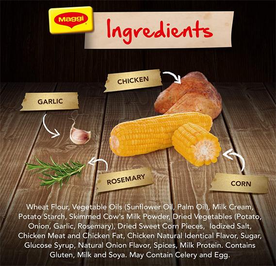 Maggi Chicken Soup With Corn 47 Gram