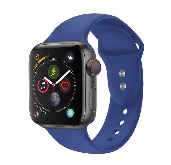 Promate  Oryx-42ML Silicone Rubber Apple Watch Sport Strap, Blue