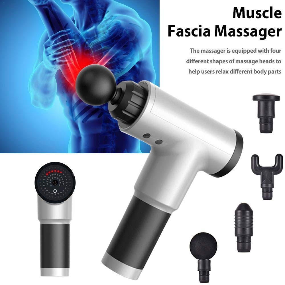 2 in 1 Bundle Offer Finishing Touch Instant & Pain Free Hair Remover With Fascial Gun Muscle Massager With Accessories Assorted Color