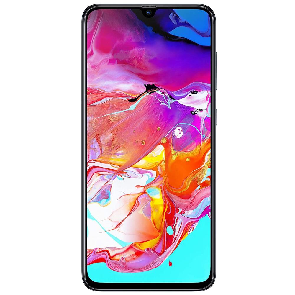 Samsung Galaxy A70 Dual Sim128GB 6GB RAM 4G LTE, Black