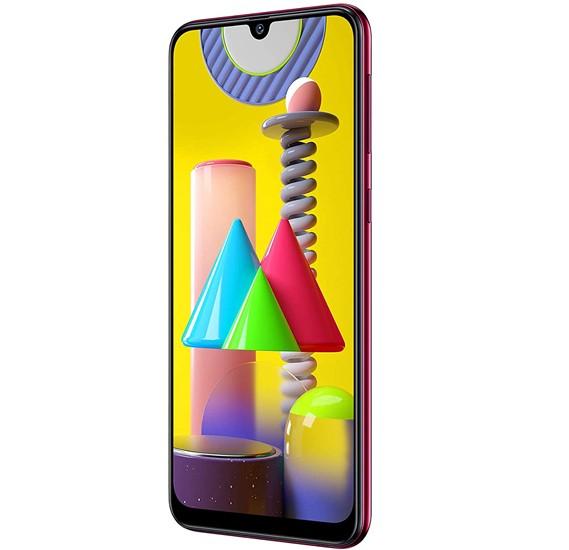 Samsung Galaxy M31 Dual SIM, 128GB, 6GB RAM, 4G LTE-Red