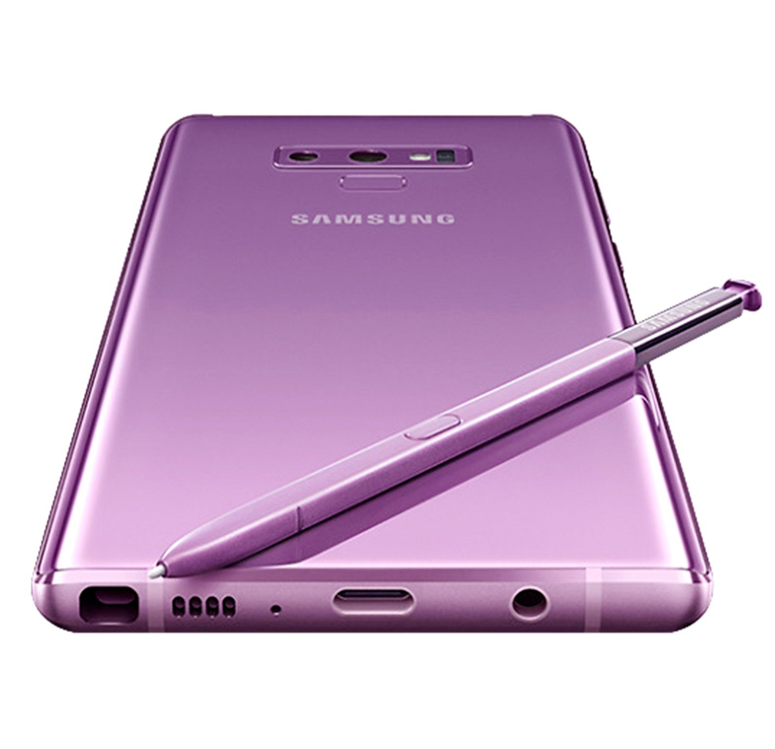 Samsung Galaxy Note 9, Dual SIM, 128GB, 6GB RAM, 4G LTE, Purple.
