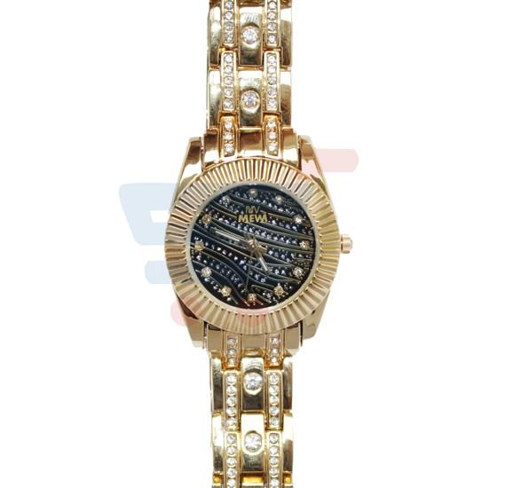 Decambridge Analog Watch For Women Full Golden - 1012LA