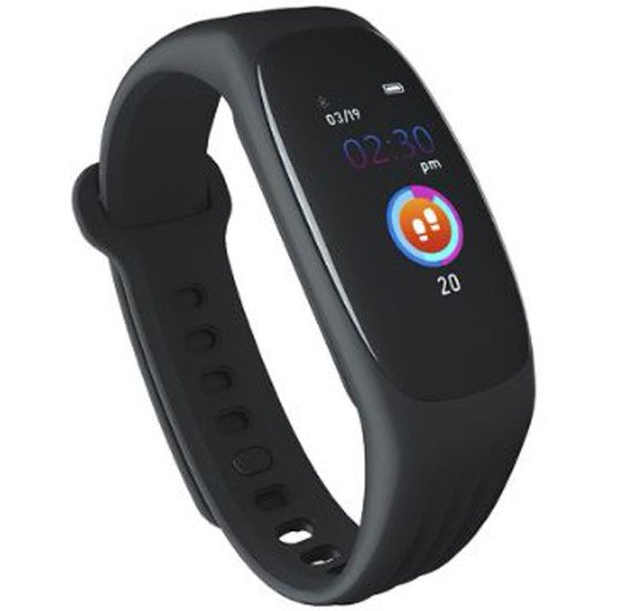 SX6 Smart Bracelet with Heart Rate ,Blood Pressure Oxygen,Sleep Monitoring, Pedometer, Call and message reminder and Waterproof Sports Fitness Colour Display Wristband