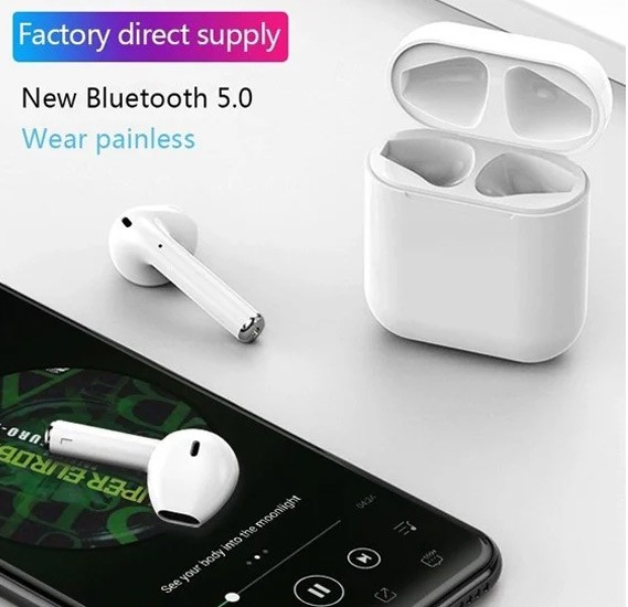 2 in 1 Bundel Pack BSNL Penta T-PAD P07 Tablet, I12 TWS Bluetooth Earphone Pop-up Wireless Earphones