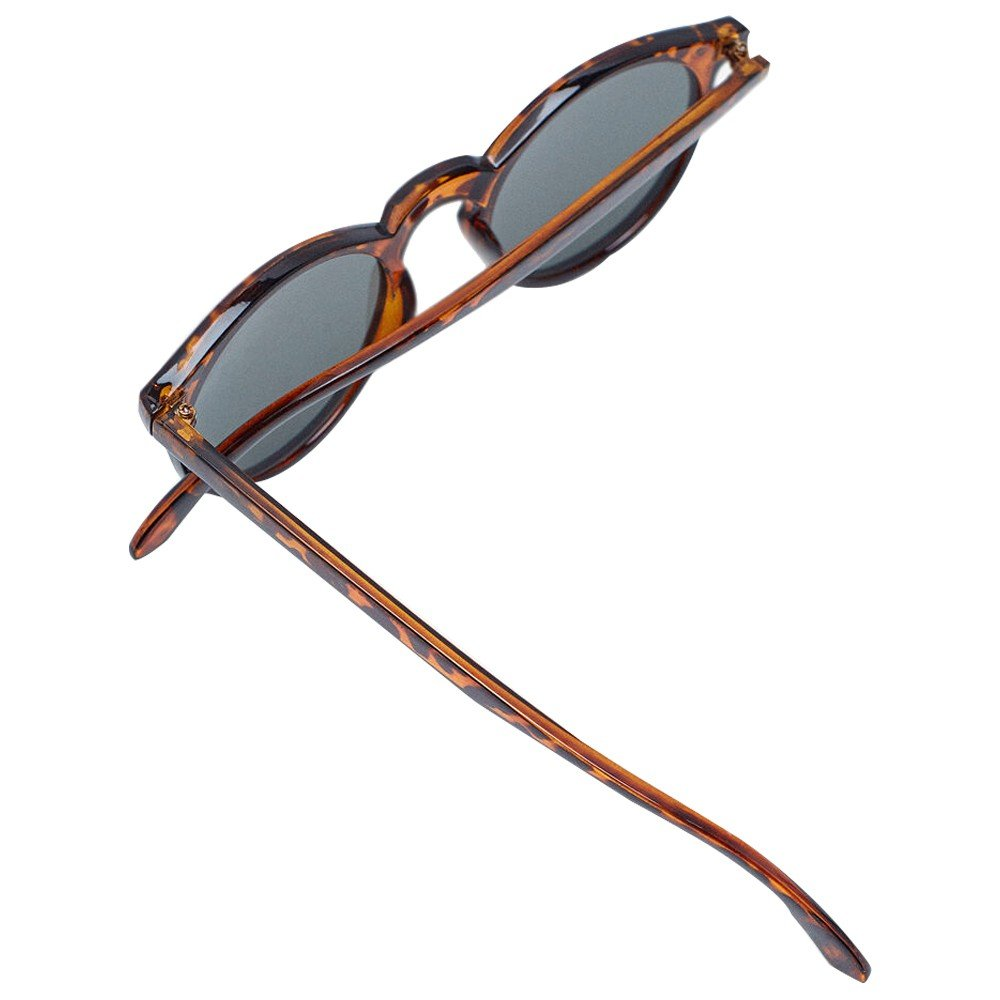 Sprinfield Sunglass Dotted Brown With Sky Blue Lens