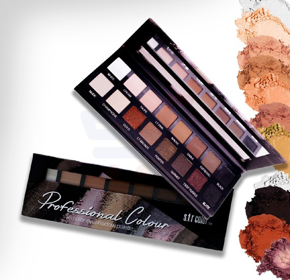 SFR Color Professional Colour 16 Eye Shadow Palette - 6714