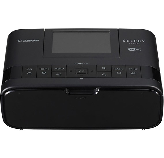 Canon Selphy Wireless Compact Photo Printer CP1300  , Black