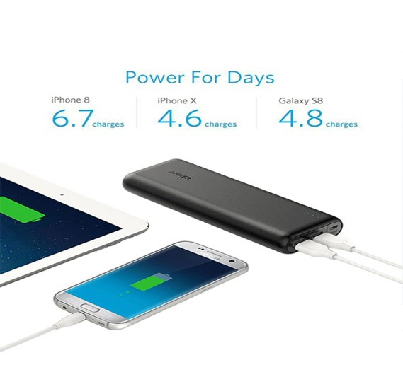 Anker A1271H12  Power Bank 20100 Mah - Black