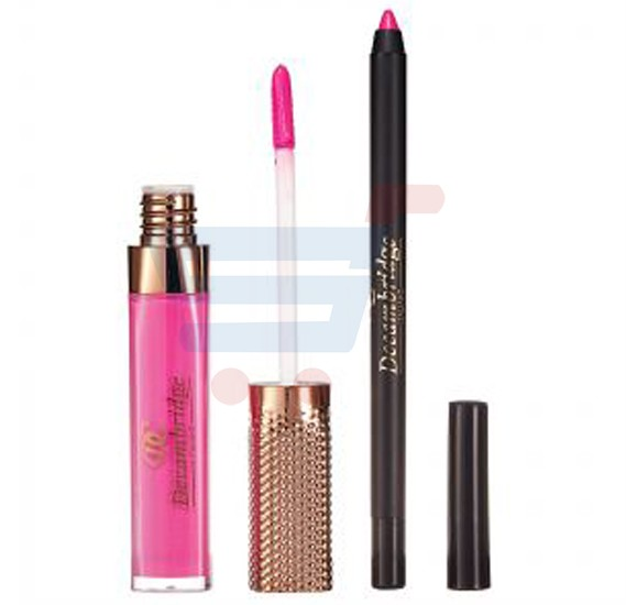 Decambridge Pinky Matte Liquid Lipstick and Lip Liner, LP18