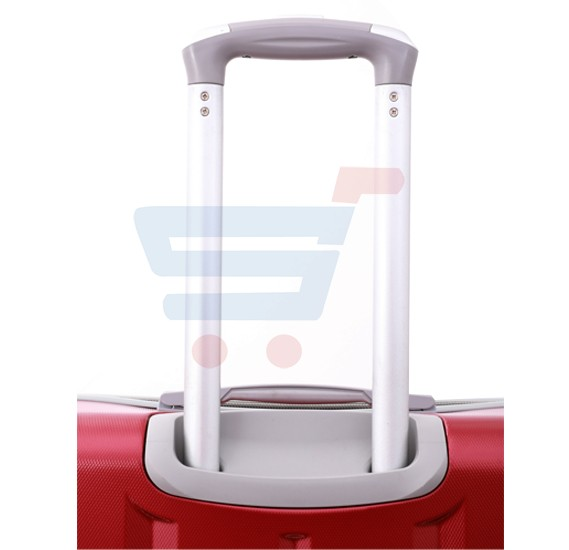 Para John 24 Inch Trolley Luggage, Red- PJTR4024