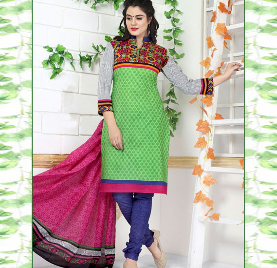 Rudra 2013 Cotton Printed Dress Material