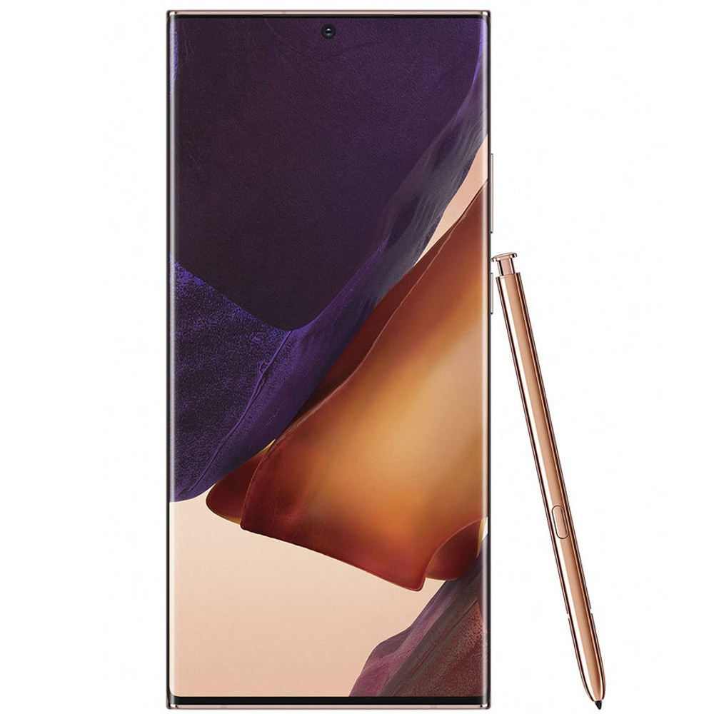 Samsung Galaxy Note20 Ultra Dual SIM 8GB RAM 256GB 4G LTE, Mystic Bronze