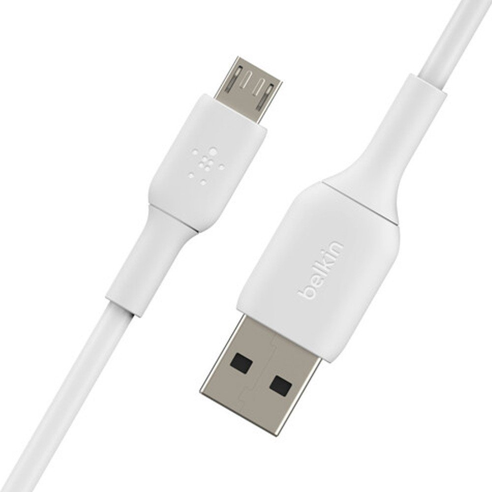 Belkin Mixit MicroUSB Cable 1M White-CAB005bt1MWH