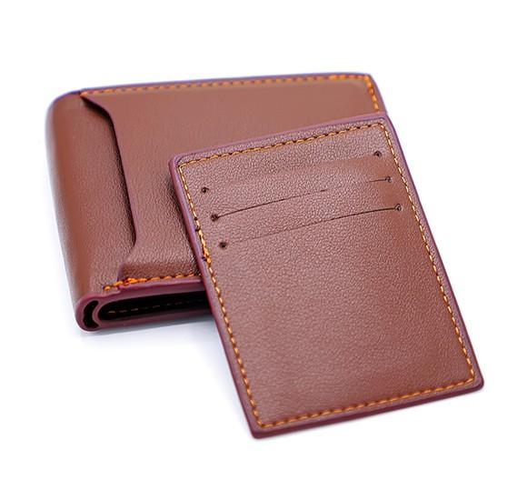 Jiansu Leather Wallet - 18S-17 Brown