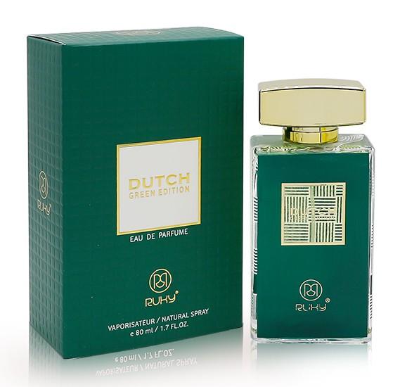 Ruky Dutch Green For Women 80ml+ Ruky Oud Muhabath Eau De Perfume 30ml
