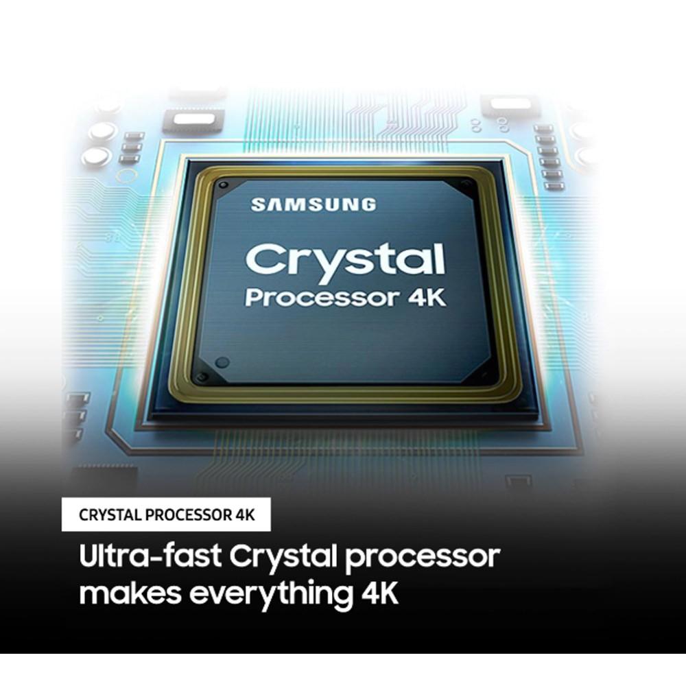 Samsung 65 Inch 4K UHD Smart LED TV UA65TU8000 Black